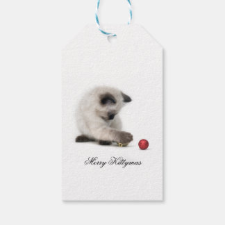 Merry Kittymas gift tag