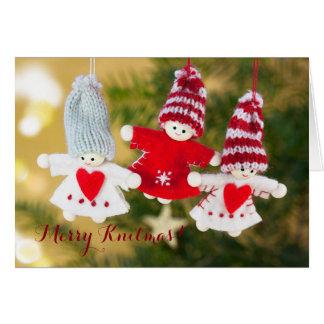 Merry Knitmas card