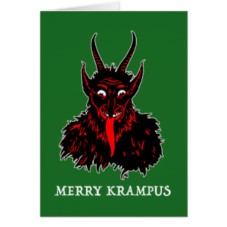 MERRY KRAMPUS CARD