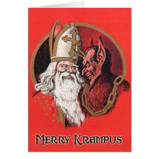 Merry Krampus Christmas Cards