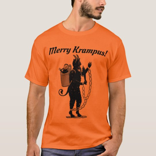 Merry Krampus! Tee. Funny Christmas T-Shirt