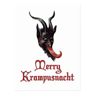 Merry Krampusnacht Postcard