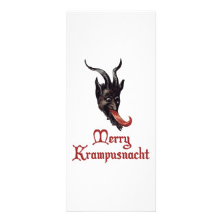 Merry Krampusnacht Rack Card Design