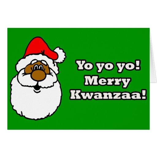 Merry Kwanzaa! Greeting Card