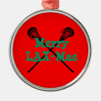 Merry LAX-Mas Christmas Ornament