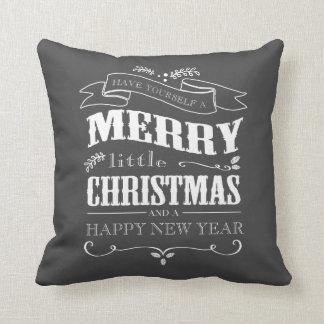 Merry Little Christmas Cushion