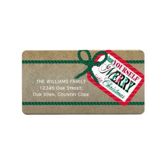 Merry Little Christmas MLCa Label