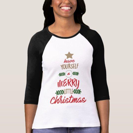 Merry Little Christmas T-Shirt
