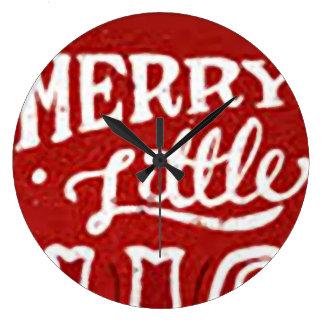 Merry Little clock
