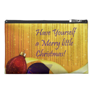 Merry little Elegant Christmas Ornaments Travel Accessories Bags