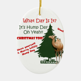 Merry Little Hump Day Christmas Christmas Ornament