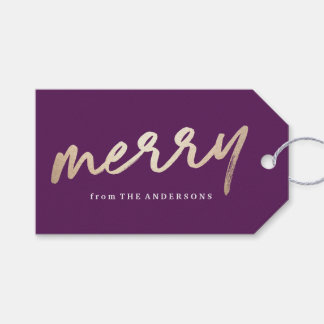 Merry Luxe | Holiday Gift Tag