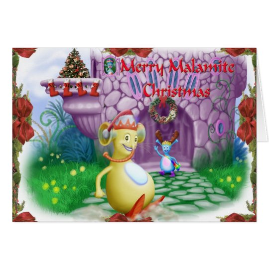 Merry Malamite Christmas! Card