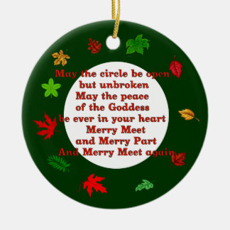 Merry Meet Christmas Ornament