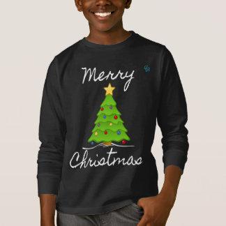 Merry Merry Christmas Tree T-Shirt