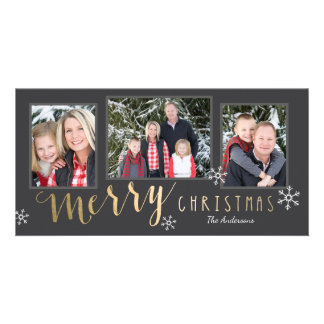 Merry Moments Christmas Photo Card