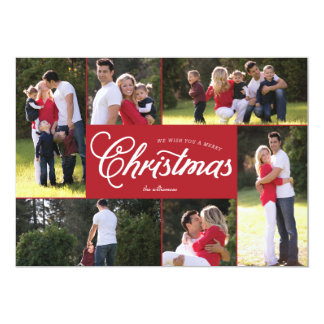 Merry Multiphoto Christmas Card
