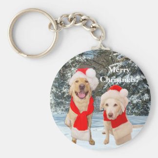 Merry Myrtie & Moses Basic Round Button Key Ring