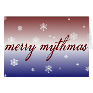 Merry Mythmas Card