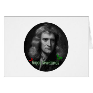 Merry Newtonmas! Note Card