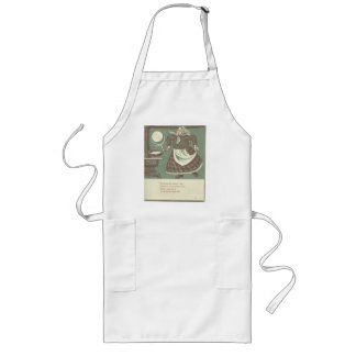 Merry Old Woman Long Apron