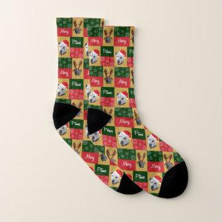 Merry Pitmas Socks 1