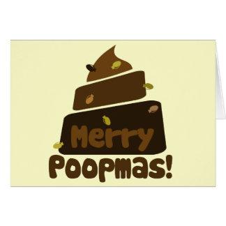 Merry POOPmas Greeting Card
