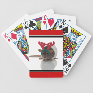 Merry Ratmas Bicycle Playing Cards