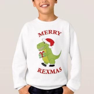 Merry Rexmas T-Rex Sweatshirt