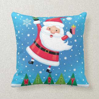 Merry Santa Pillow