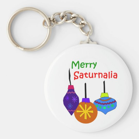 Merry Saturnalia Key Chain
