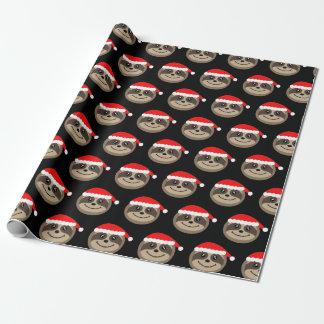 Merry Slothmas Sloth Christmas Xmas Wrapping Paper
