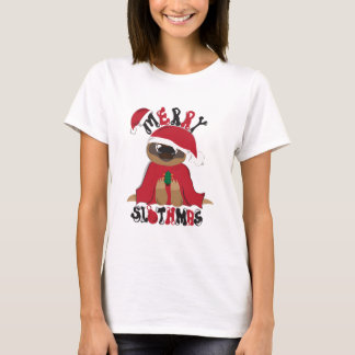 Merry Slothmas T-Shirt