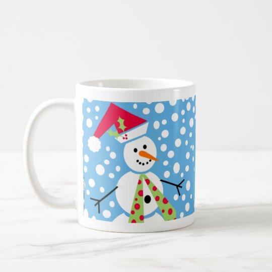 Merry Snowmen Mug