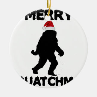 Merry Squatchmas Christmas Ornament