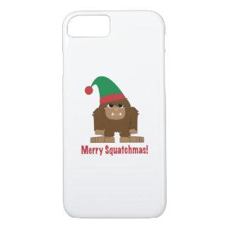 Merry Squatchmas! iPhone 7 Case