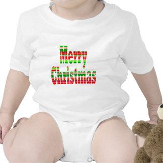 Merry Stripe MERRY CHRISTMAS T-shirts