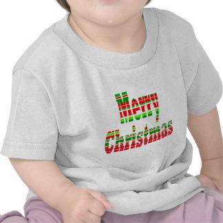 Merry Stripe MERRY CHRISTMAS Tshirts