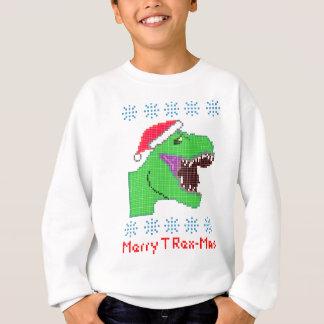"""Merry T Rex-Mas"" Christmas Festive Dinosaur Sweatshirt"