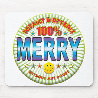 Merry Totally Mouse Pads