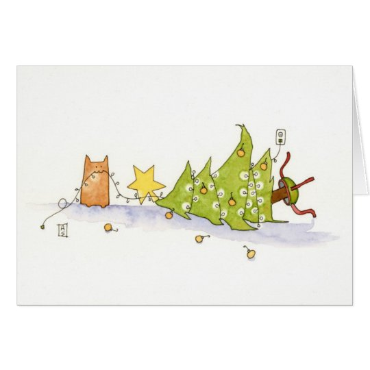 Merry Toy Tree Card