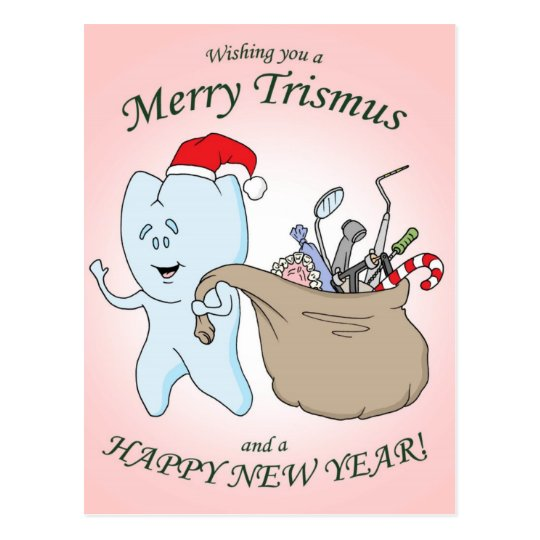 """""""Merry Trismus"""" Christmas Card"""
