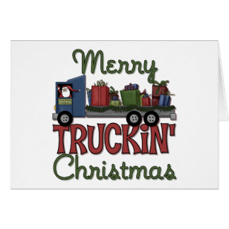 Merry Truckin' Christmas Greeting Cards