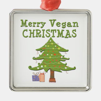 Merry Vegan Christmas Christmas Ornament
