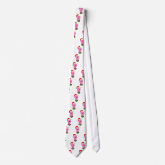 Merry Vegan Christmas Pink Pig Apparel Tie