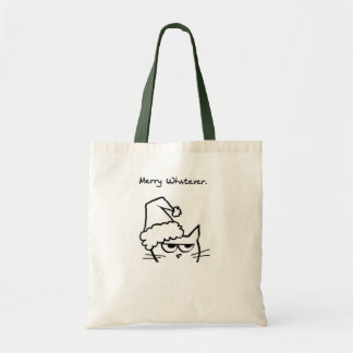 Merry Whatever Budget Tote Bag