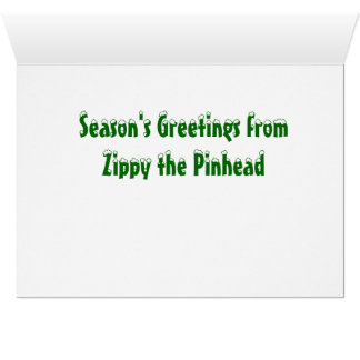Merry Whatever from Zippy the Pinhead Card