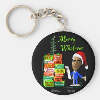 Merry Whatever Key Chain
