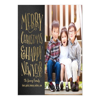 Merry Wishes Holiday Thin Magnetic Card