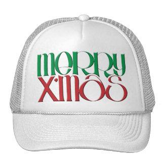 Merry X'mas 3D Hat